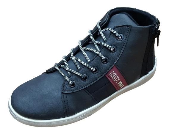 Sapato Tênis Cano Alto Flyer Street Klin Juvenil Tam 28/36 B