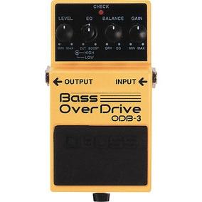 Pedal De Baixo Boss Odb-3 Over Driver Bass + Frete Grátis