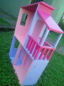 Casa Muñeca Mdf Madera Casita Niña