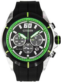 Relógio Citizen Masculino Eco Drive Cronógrafo Ca4104-05e /
