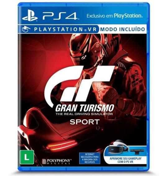 Jogo Gran Turismo The Real Driving Simulator Sport Ps4 Vr