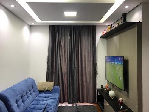 Apartamento Com 3 Dormitórios À Venda, 60 M² - Dos Casa - São Bernardo Do Campo/sp - Ap64156