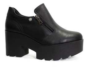 Sapato Feminino Plataforma Quiz Preto