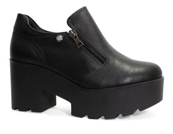 Sapato Quiz Plataforma Feminino Preto