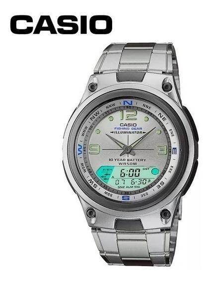 Relógio Masculino Anadigi Casio Aw-82d-7avdf (3768)