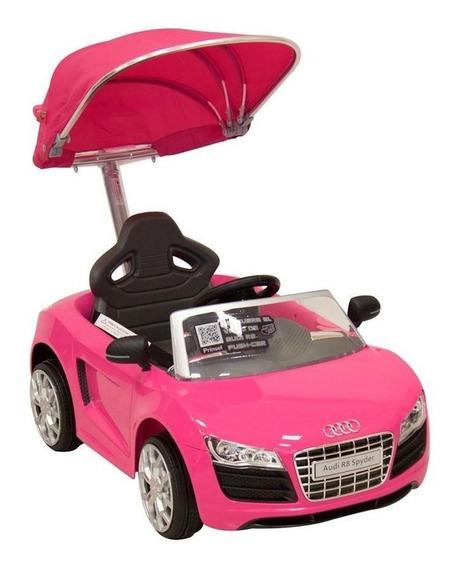 Montable Push Car Audi Rosa