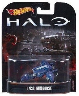 Hot Wheels Halo - Covenant Ghost Com Nome Unsc Gungoose