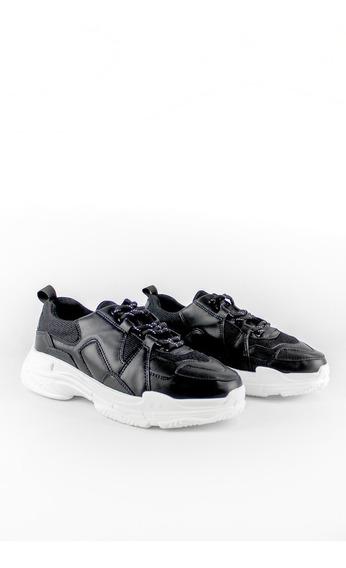 Zapatos Synergy Pm Negros K28-d166gx