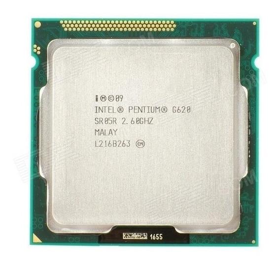Processador Intel Core I3 2105 E Pentium G620