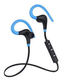 Azul Bt1 Movimiento Bluetooth Auricular 4.1 Ruido Libre De M