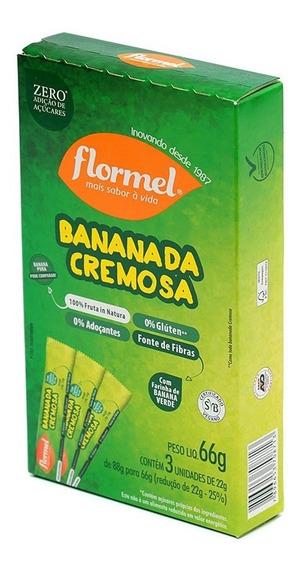Doce De Banana Bananada Cremosa Zero Açúcar Flormel