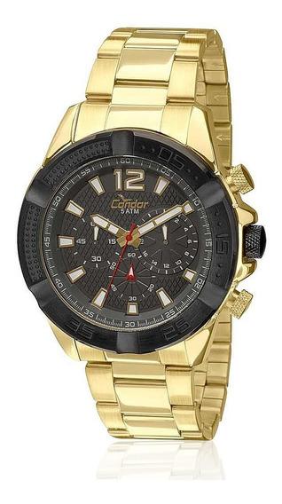 Relógio Masculino Condor Analógico Covd54ah/4c Dourado