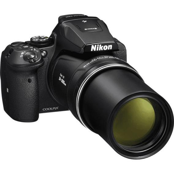 Nikon Coolpix P900 Bolsa Original Carregador E Sd Hc Uhs 3