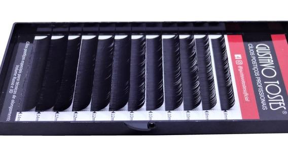 Cílios Alongamento Fio A Fio 0.15mm C Mix Mink Sintético