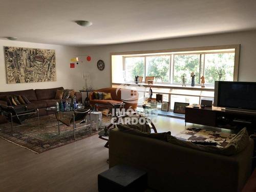 Imagem 1 de 14 de Apartamento Com 3 Dormitórios À Venda, 220 M² - Higienópolis - São Paulo/sp - Ap17902