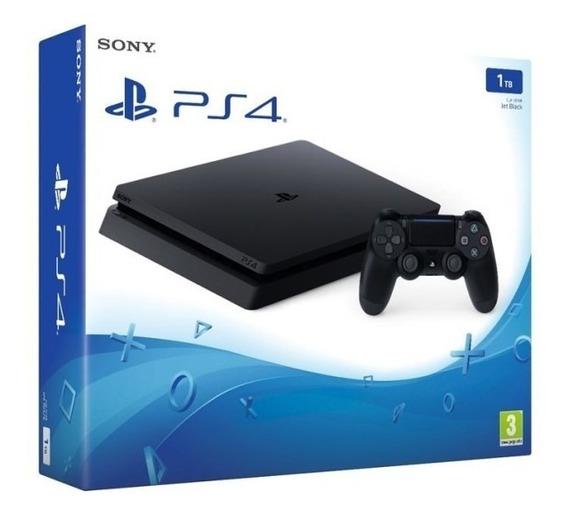 Video Game Ps4 Slim 1tb Original Garantia 1 Ano Sony Com Nf