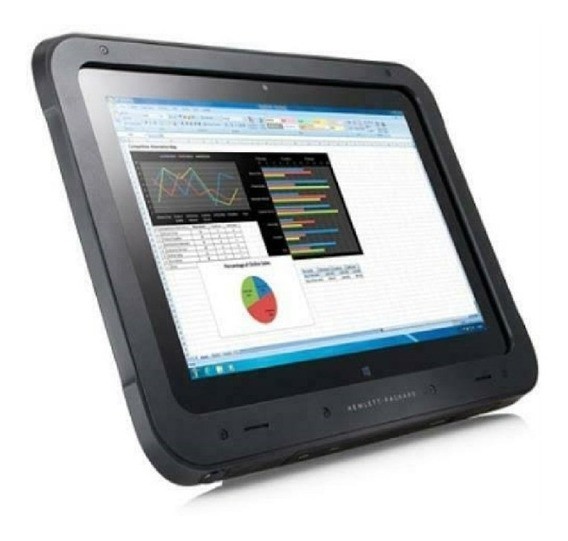 Tablet Pc Hp Rugged + Barcod Coletor De Dados