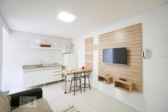 Studio Térreo Mobiliado Com 1 Dormitório - Id: 892984597 - 284597