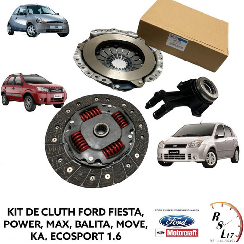 Kit De Cluth Original Ford Fiesta Balita Move Max Ka Power
