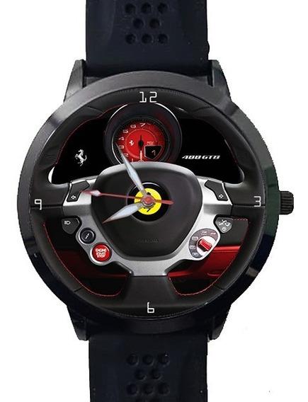 Relógio Painel Volante Ferrari 488 Gtb F40 458 F530 Black