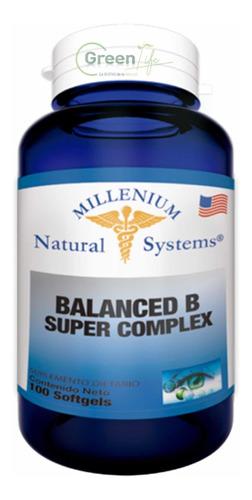 Complejo B Vitamina B1 B2 B5 B6 B12 - Unidad a $280