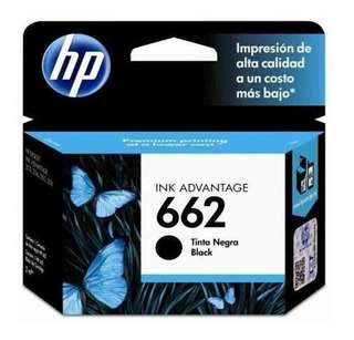 Cartucho Hp 662 Negro Original Cz103al 1515 2515 2545 3515