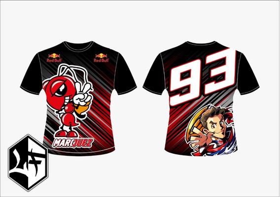 Camisa Marque Maquez 93 Moto Gp Racing 2019 Mod 2