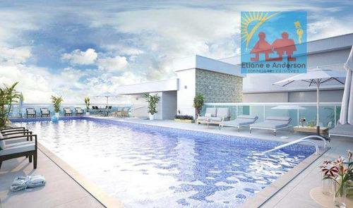 Apartamento Com 2 Dorms, Caiçara, Praia Grande - R$ 515 Mil, Cod: 884 - V884
