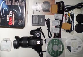 Camera Fotografica Canon Dslr T3i Oferta Pouco Uso Impecavel