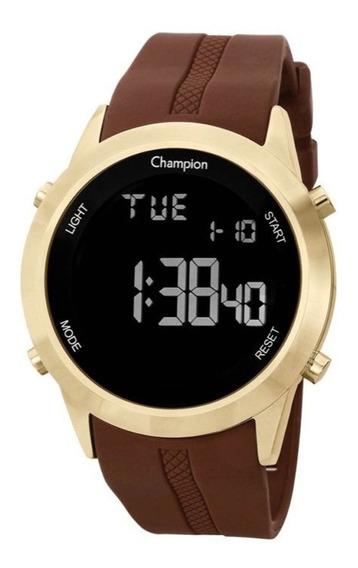 Relógio Masculino Champion Digital Ch40259h - Dourado