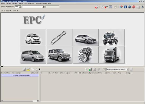 Catálogo Eletrônico Peças + Reparos Mercedes 2018 Epc + Wis