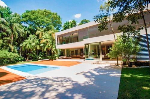 Casa Por Mônica Drucker, Com 4 Dormitórios À Venda, 968 M² Por R$ 14.000.000 - Retiro Morumbi - São Paulo/sp - Ca5334