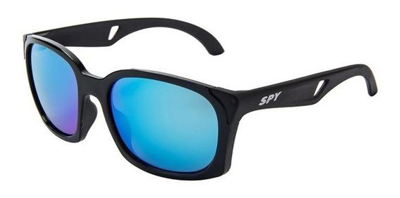 Óculos De Sol Spy 71 Kelm - Preto Brilho