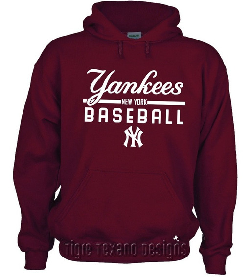 Sudadera Yankees Nueva York Mod. K1 By Tigre Texano Designs
