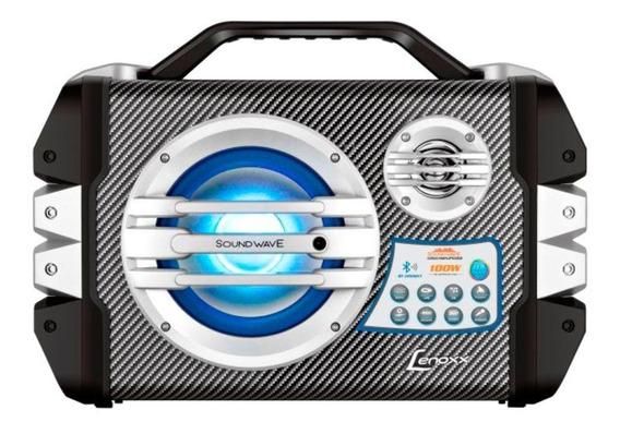 Caixa Portátil Multiuso Lenoxx Bluetooth Bateria Interna 12v
