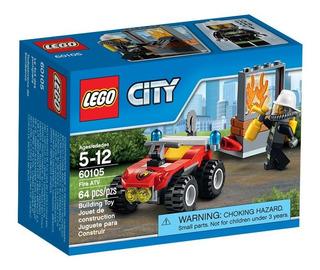 Todoterreno De Bomberos Lego - 60105