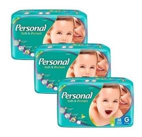 Fralda Infantil Personal Mega 6 Pacotes Mega Tamanho G