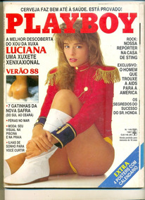 *sll* Revista Playboy N 149 Luciana Vendramini Dezembro 1987