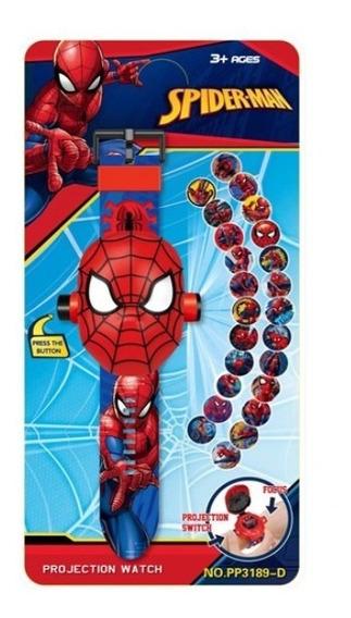 Relógio 3d Homem Aranha