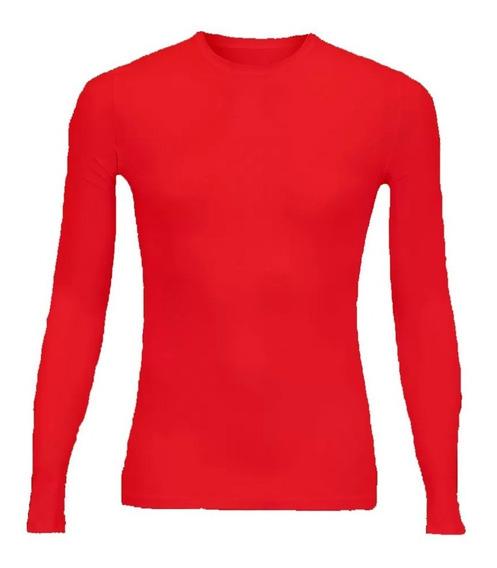 Camisa Camis Térmica Feminino Manga Longa Compressão Uv-50