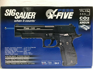 Pistola Sig Sauer Xfive Co2