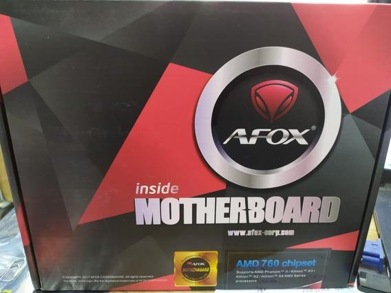 Placa Mae Afox A76-mad3 Dual Chanel Ddr3 Amd Rs760
