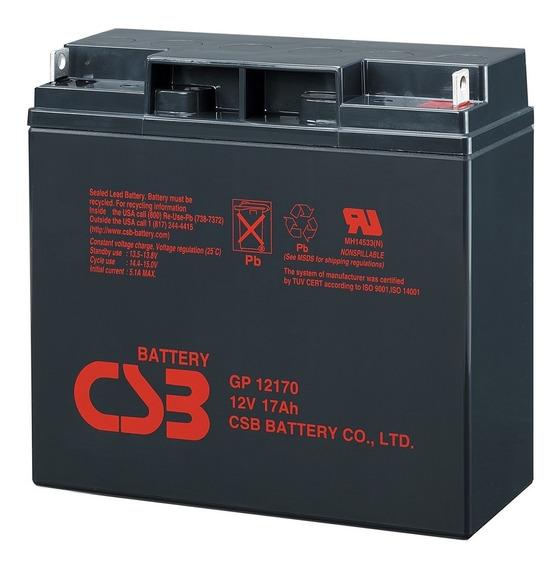 Bateria 12v 17ah Csb No Break Apc Sms Gp12170