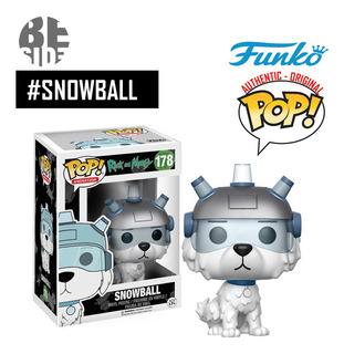 Funko Pop Snowball, Rick And Morty