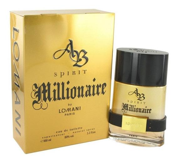 Perfume Spirit Millionaire Lomani Masc 100ml Original