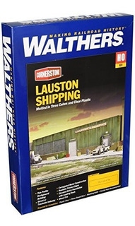 Walthers Cornerstone Ho Scale Lauston Shipping Background Bu