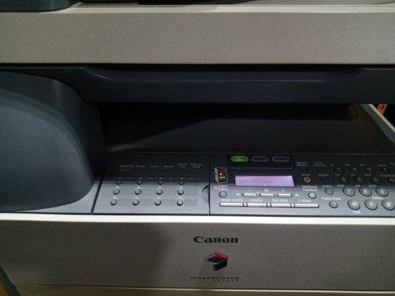 Impressora Canon Imagerunner 1025if No Estado Ligando Funcio