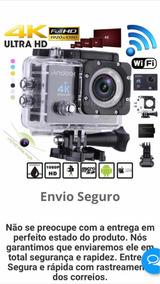 Câmera Wifi 4k- Aprova Dágua