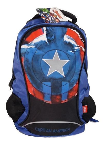 Mochila Capitan America Backpack Primaria Advengers Andgame