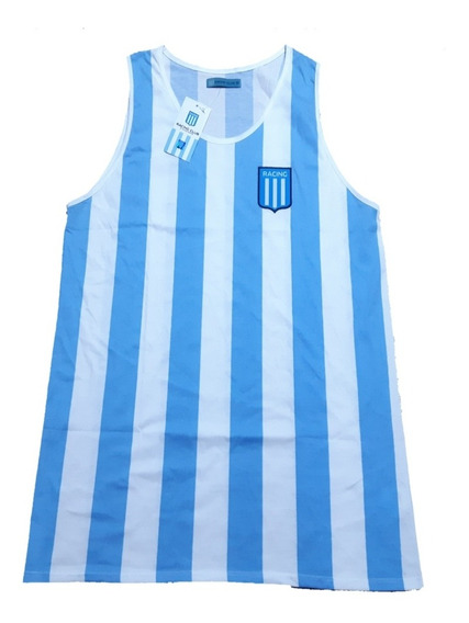 Camiseta Musculosa Racing Club Licencia Oficial